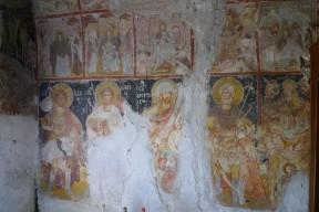 Fresken in der Charalambos Kapelle